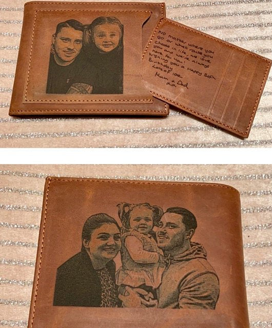 mens photo wallet