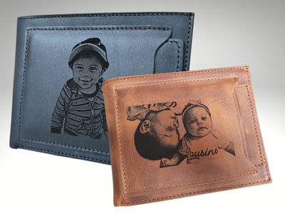 custom mens leather wallets