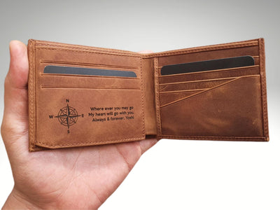 inside of the wallet engraving