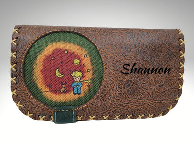 custom different design handmade leather womens wallet