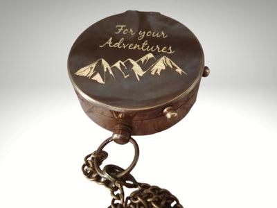 for your adventures engraving compass