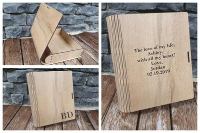 personalized custom wooden box