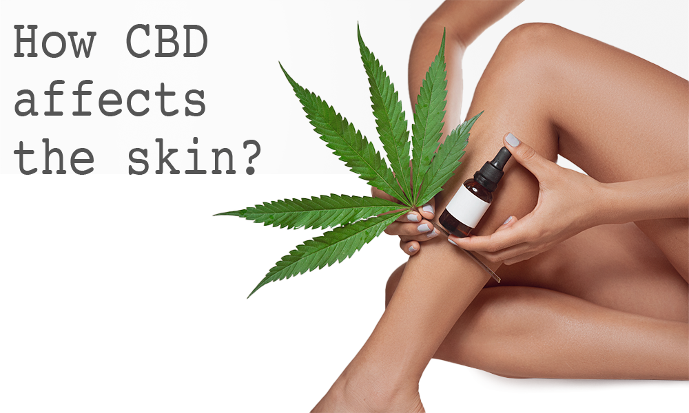 How CBD affects the skin?