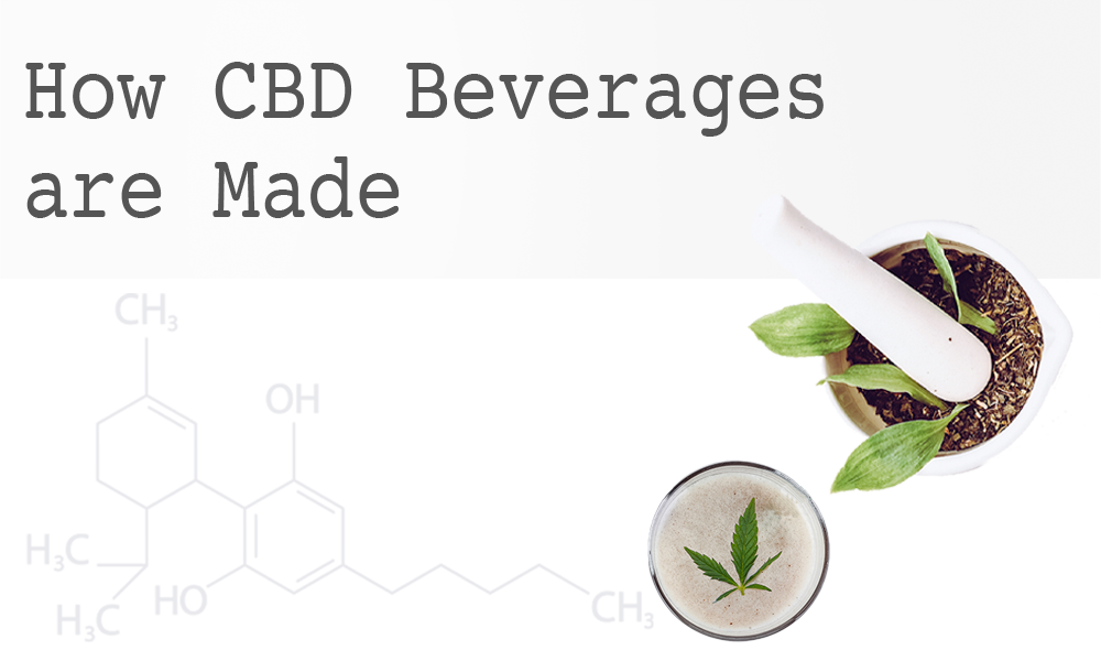 How CBD Beverages are Made