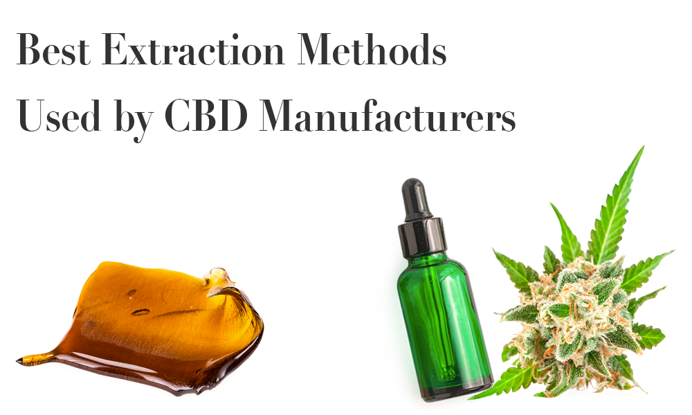 Best Extraction Methods Used by CBD Manufacturers