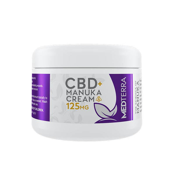 Medterra - CBD Topical - Manuka Cream - 125mg