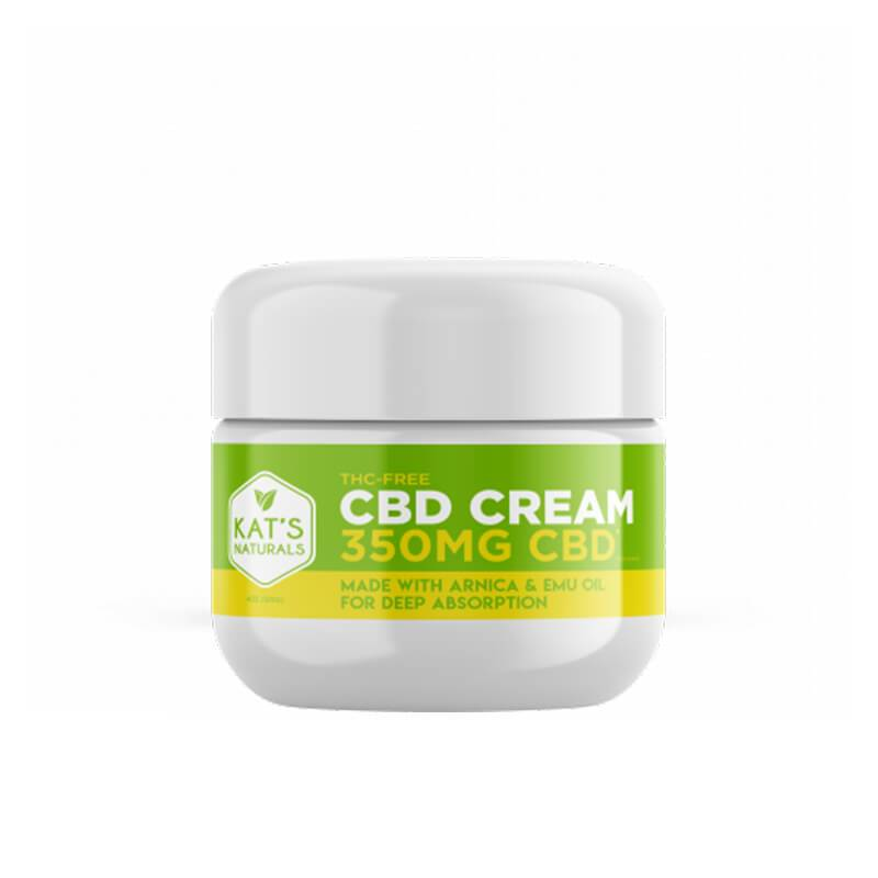 Kat's Naturals - CBD Topical - Arnica & Emu Cream - 350mg-1400mg
