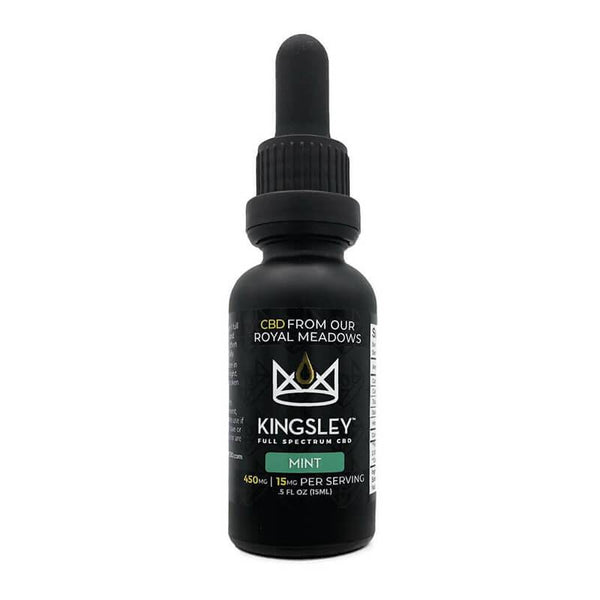 Kingsley - CBD Tincture - Full Spectrum Mint - 450mg-1500mg