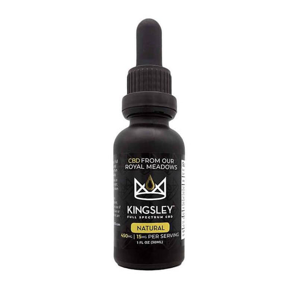 Kingsley - CBD Tincture - Full Spectrum Natural - 450mg-1500mg