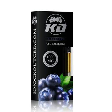 Knockout CBD - CBD Cartridge - Blueberry - 1000mg