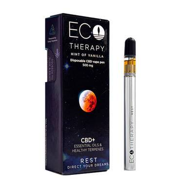 ECO Therapy CBD Vape Rest Disposable Pen - 500mg