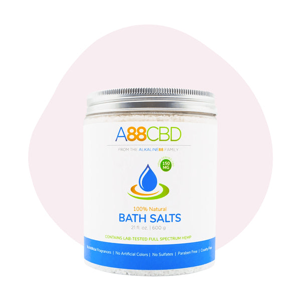 A88 CBD CBD Bath Full Spectrum Bath Salts 150mg - ErthBay
