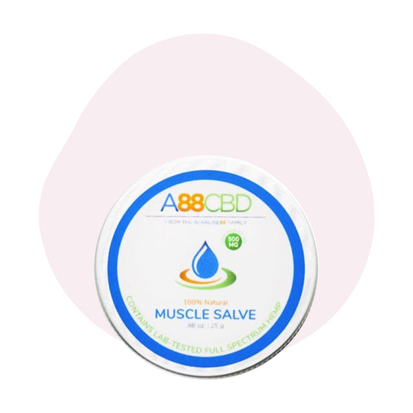 A88 CBD CBD Topical Full Spectrum Muscle Salve 500mg - ErthBay