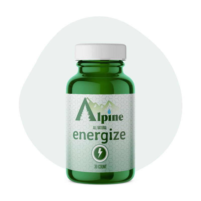 Alpine Hemp CBD Capsule Energize 20mg 30 Count - ErthBay