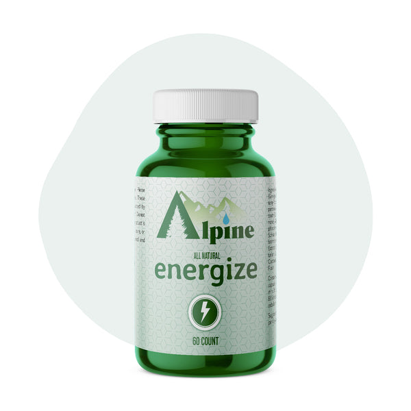 Alpine Hemp CBD Capsule Energize 20mg 60 Count - ErthBay