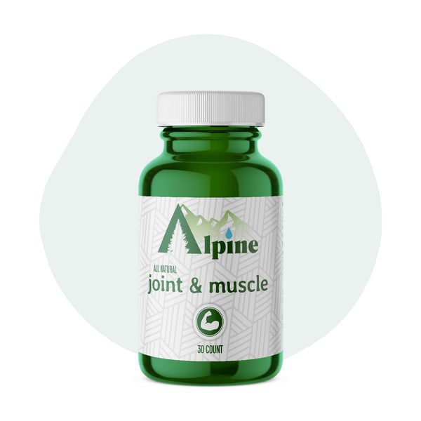 Alpine Hemp CBD Capsule Joint and Muscle 20mg 30 Count - ErthBay
