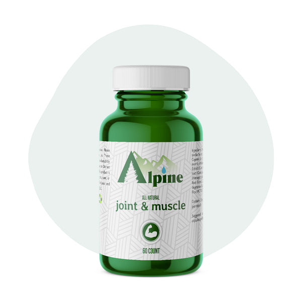 Alpine Hemp CBD Capsule Joint and Muscle 20mg 60 Count - ErthBay