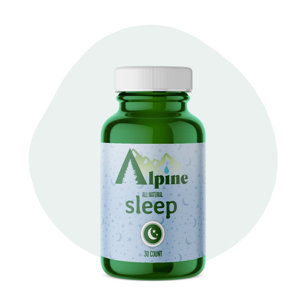 Alpine Hemp CBD Capsule Sleep 20mg 30 Count - ErthBay