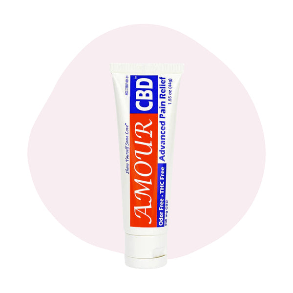 AmourCBD CBD Topical Pain Relieving Cream 1.55oz - ErthBay