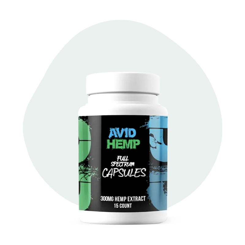 Avid Hemp CBD Caps Full Spectrum 300mg - ErthBay Depot