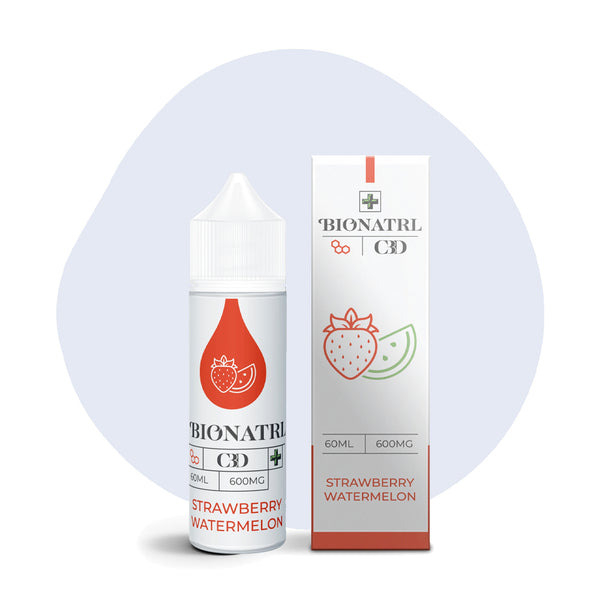BIONATRL CBD Strawberry Watermelon Vape eLiquid - ErthBay