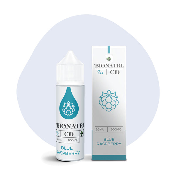 BIONATRL CBD Blue Raspberry Vape eLiquid - ErthBay