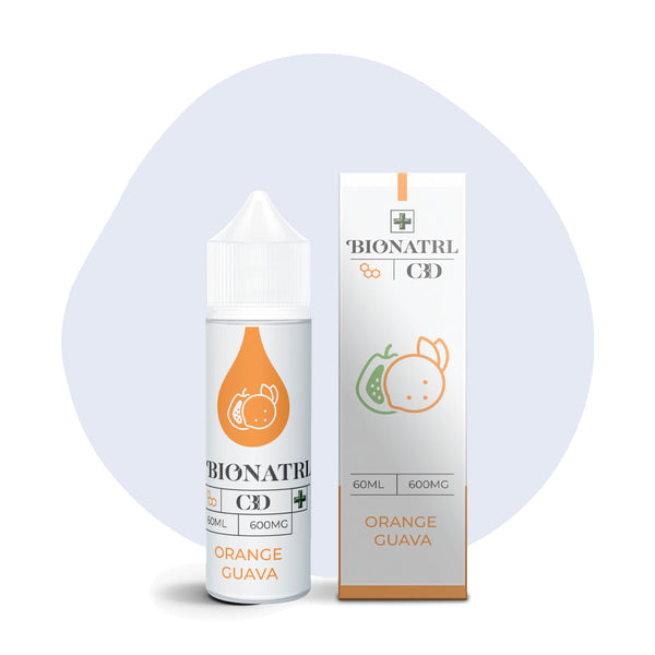 BIONATRL CBD Orange Guava Vape eLiquid - ErthBay