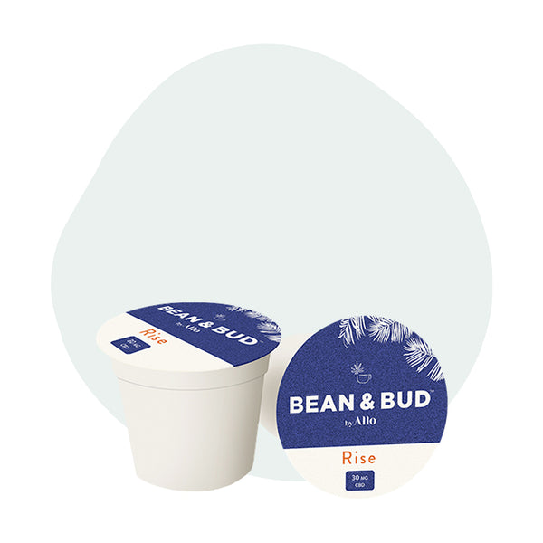Bean & Bud CBD Coffee Rise Single Serve Pods 30mg - ErthBay