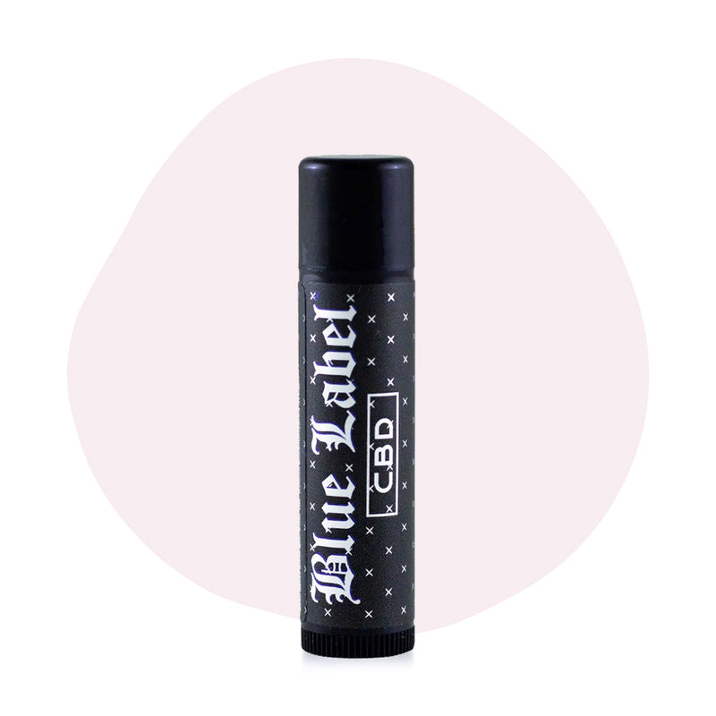 Blue Label CBD - CBD Topical Lip Balm 5mg - ErthBay