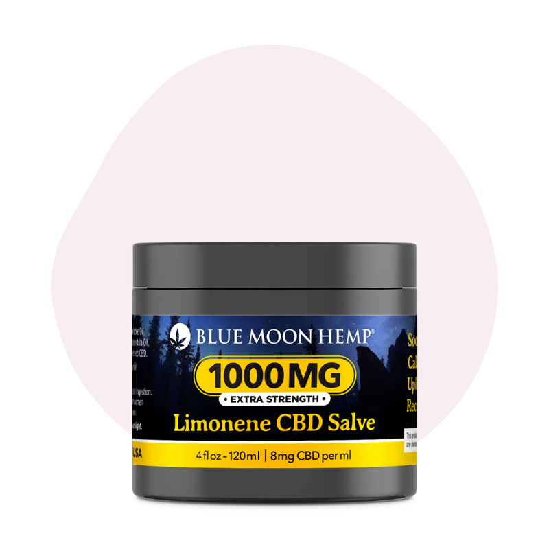 Blue Moon Hemp CBD Topical Limonene Salve 4oz - ErthBay