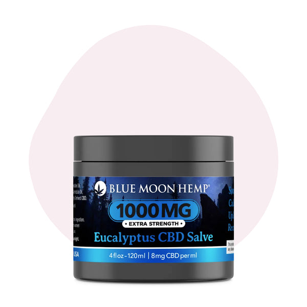 Blue Moon Hemp CBD Topical Eucalyptus Salve 4oz - ErthBay