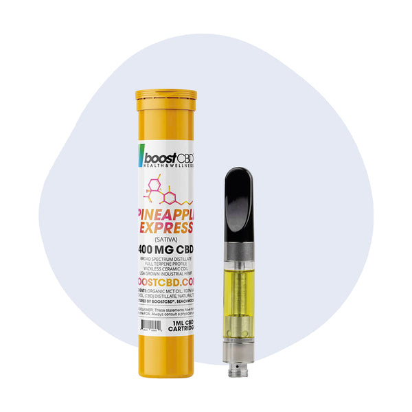 BoostCBD - CBD Cartridge Pineapple Express 400mg - ErthBay