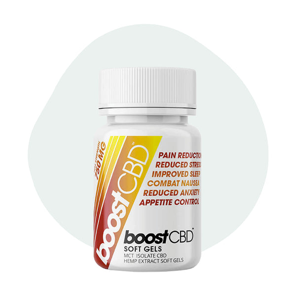 BoostCBD - CBD Soft Gel 25mg - ErthBay