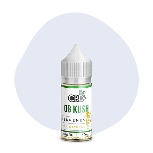 CBDfx CBD Terpenes Oil OG Kush 250mg - ErthBay