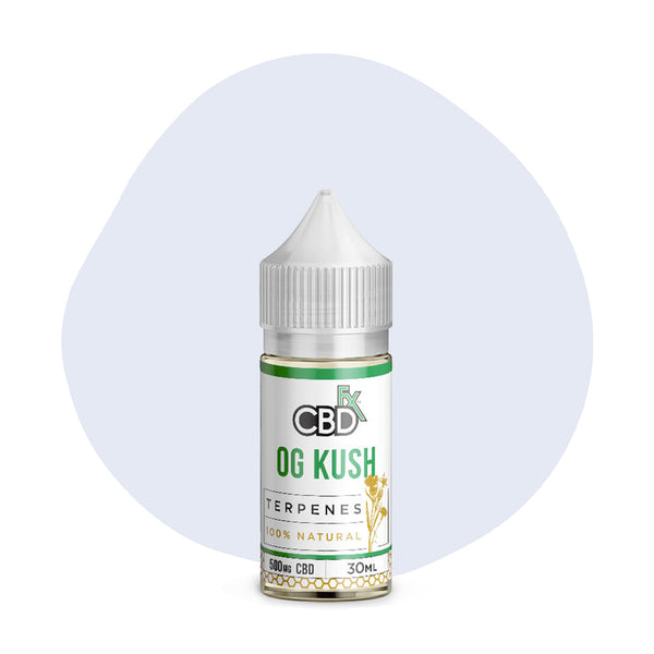 CBDfx CBD Terpenes Oil OG Kush 500mg - ErthBay