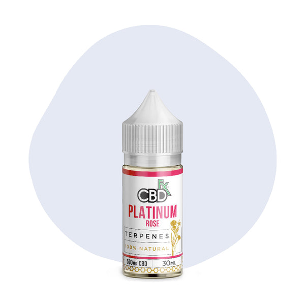CBDfx CBD Terpenes Oil Platinum Rose 500mg - ErthBay