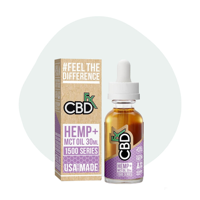 CBDfx CBD Tincture Oil 1500mg - ErthBay