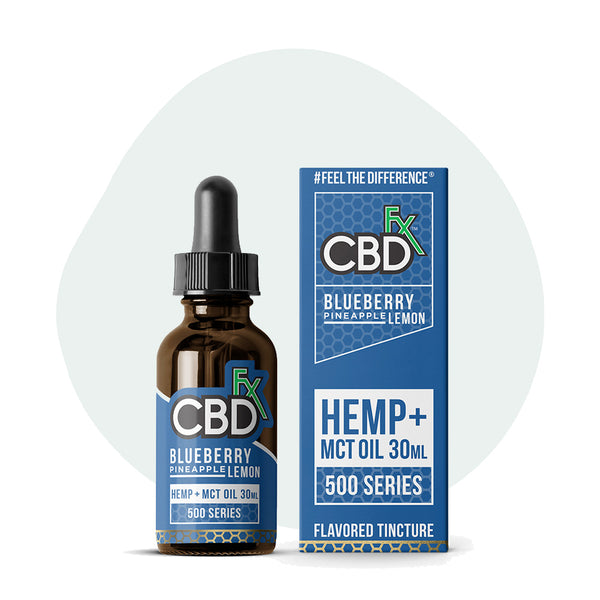 CBDfx Blueberry Pineapple Lemon CBD Oil Tincture - ErthBay