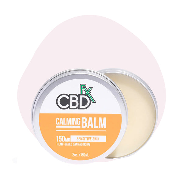 CBDfx Broad Spectrum CBD Calming Balm - ErthBay