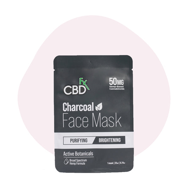CBDfx CBD Face Mask Charcoal 50mg - ErthBay