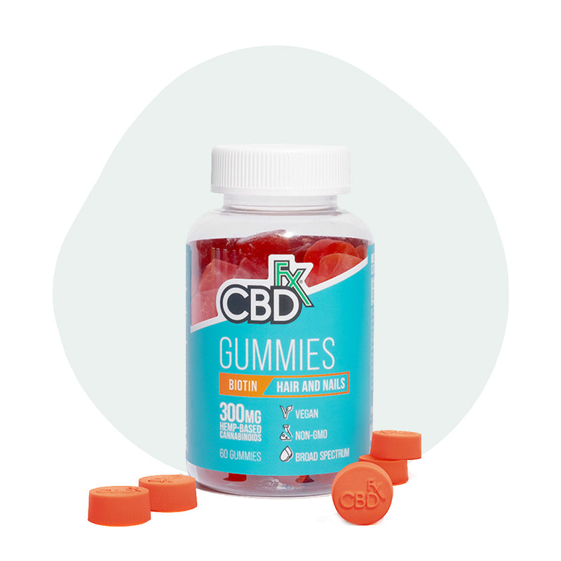 CBDfx Broad Spectrum CBD Gummies with Biotin - ErthBay