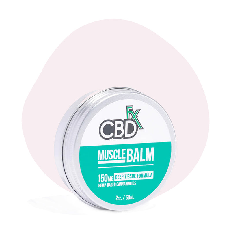 CBDfx Broad Spectrum CBD Muscle Balm - ErthBay