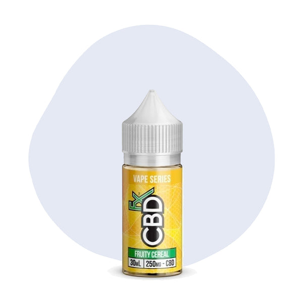 CBDfx Fruity Cereal CBD Vape Juice - ErthBay
