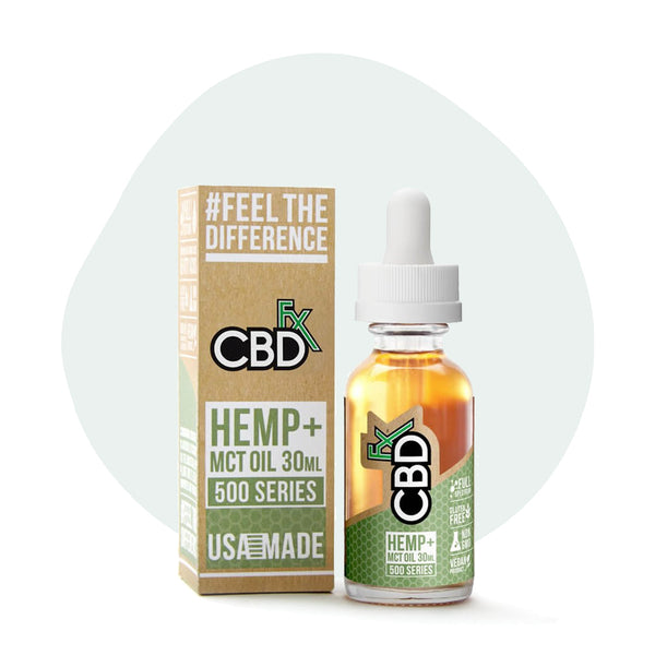 CBDfx Full Spectrum CBD Tincture Oil - Erthbay