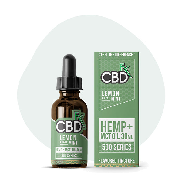CBDfx Lemon Lime Mint CBD Oil Tincture - ErthBay