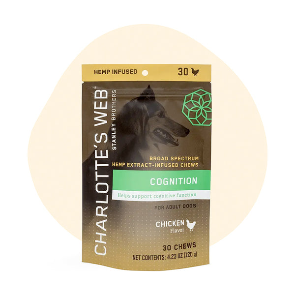 Charlottes Web CBD Pet Edible Full Spectrum Senior Chews 75mg - ErthBay