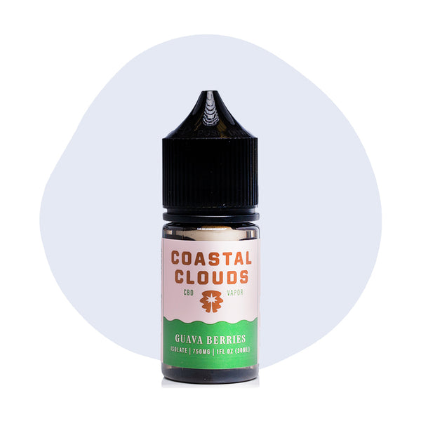 Coastal Clouds CBD Guava Berries Vape Juice - ErthBay