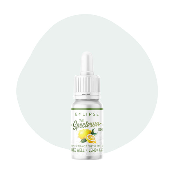 Eclipse CBD Tincture Lemon Cake 10ml Challange 100mg - ErthBay