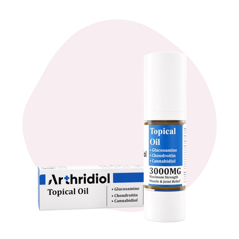 ERTH Hemp Arthridiol Oil - Maximum Strength Muscle & Joint Relief - ErthBay