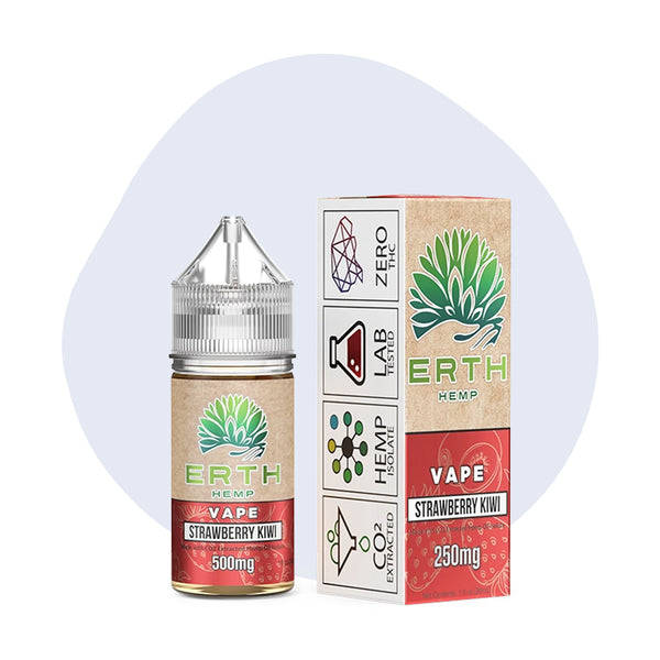 ERTH Hemp Strawberry Kiwi CBD Vape Juice 30ml - ErthBay